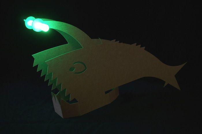 angler fish lamp photo - 8