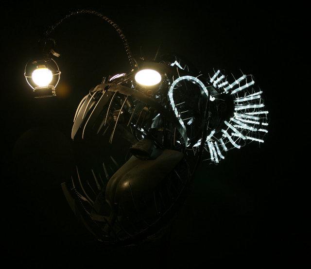 angler fish lamp photo - 9