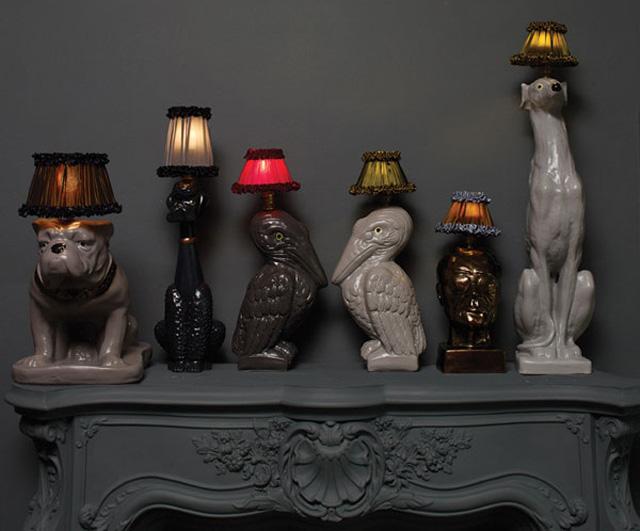 animal lamps photo - 1