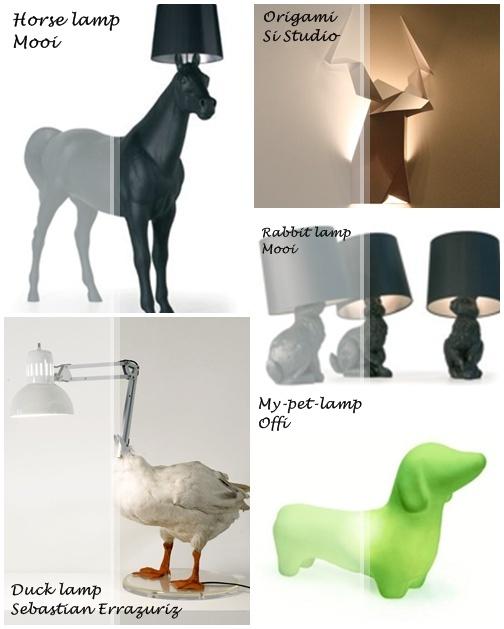 animal lamps photo - 3
