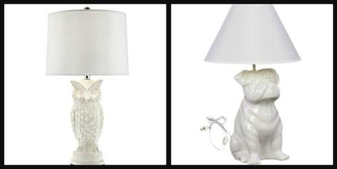 animal lamps photo - 5