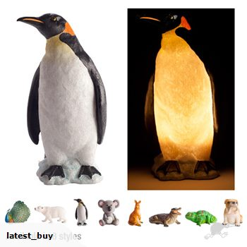 animal table lamps photo - 3