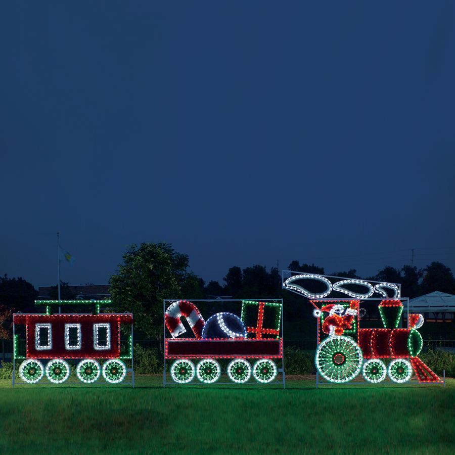 animated outdoor christmas lights photo - 3