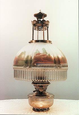 antique aladdin oil lamps photo - 1