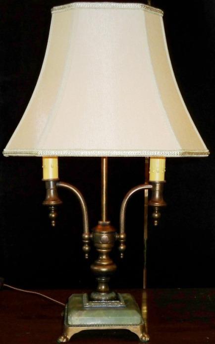antique art deco lamps photo - 5
