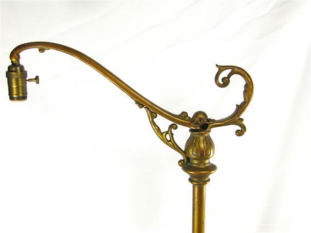 Brass Arc Floor Lamp