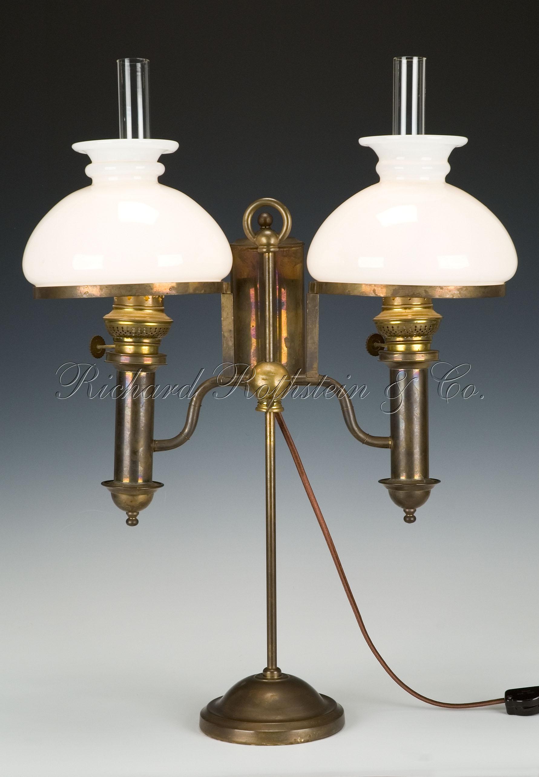Top 10 Best Modern Antique Brass Table Lamps Warisan