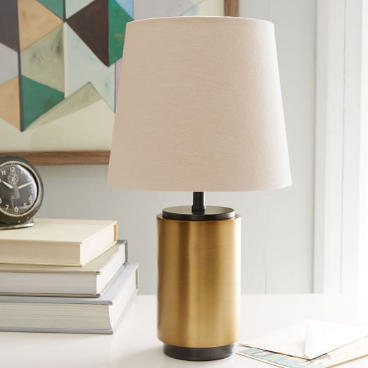 antique brass table lamps photo - 7