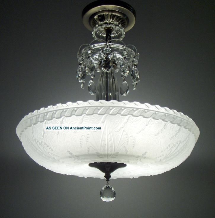 antique ceiling lights photo - 4