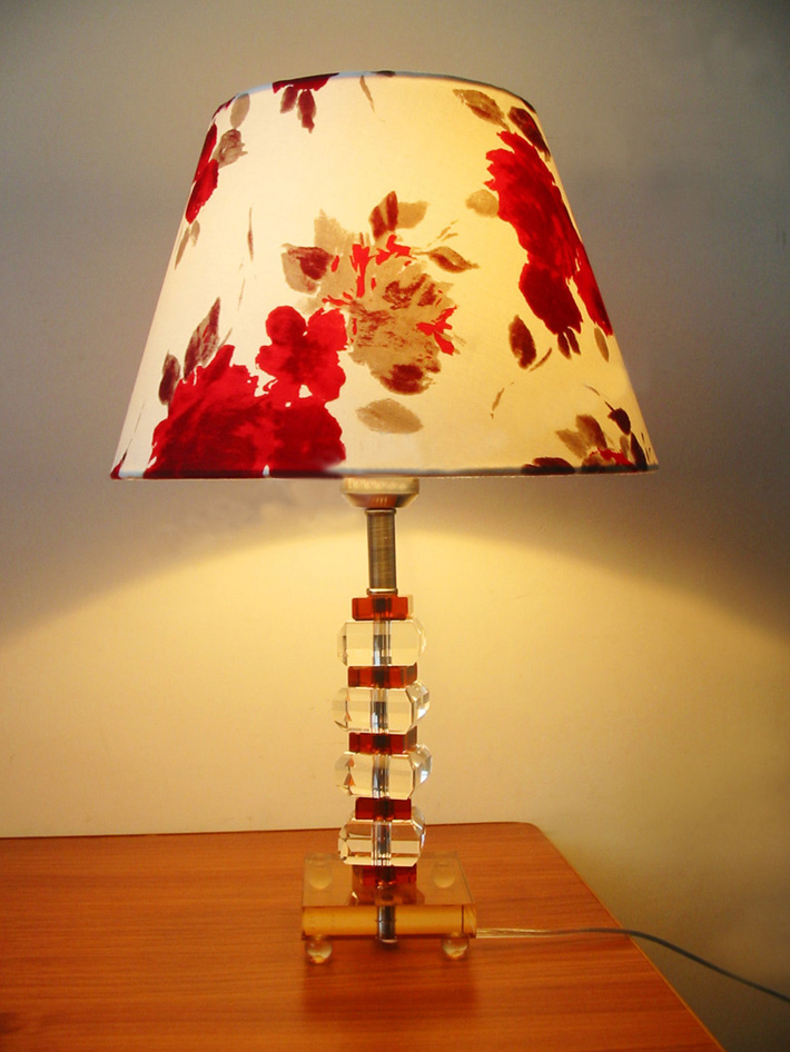 antique crystal lamps photo - 5