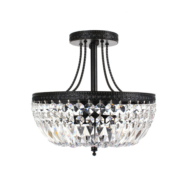 antique crystal lamps photo - 9
