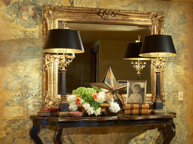 antique crystal table lamps photo - 8