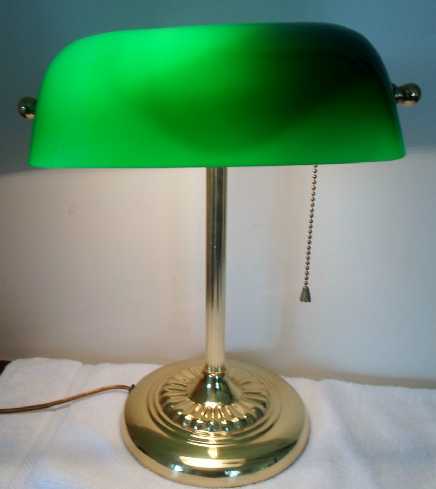 antique desk lamps photo - 1