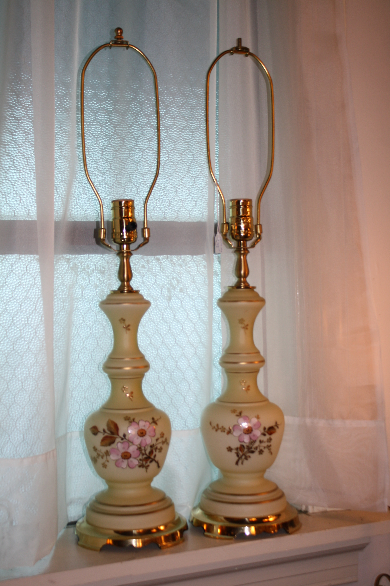 antique desk lamps photo - 2
