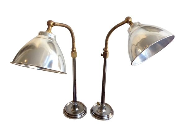 antique desk lamps photo - 8