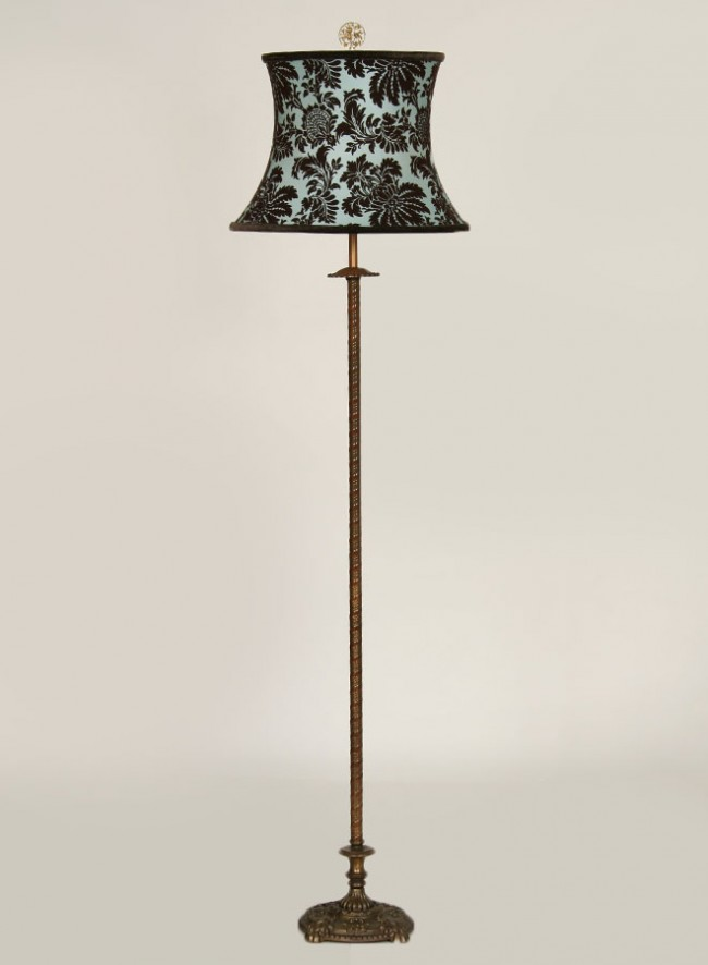 antique floor lamps photo - 2