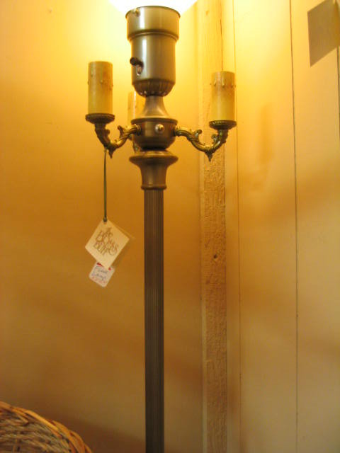 antique floor lamps photo - 3