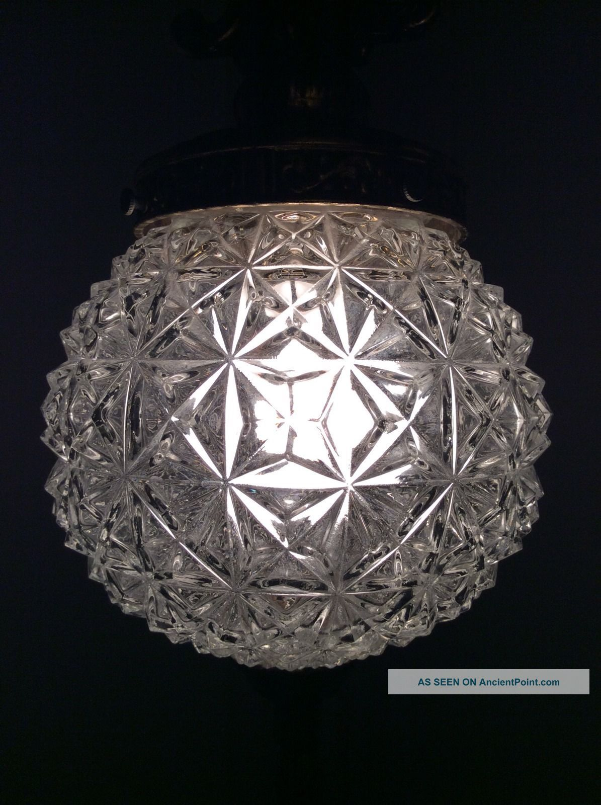 antique glass lamp globes photo - 9