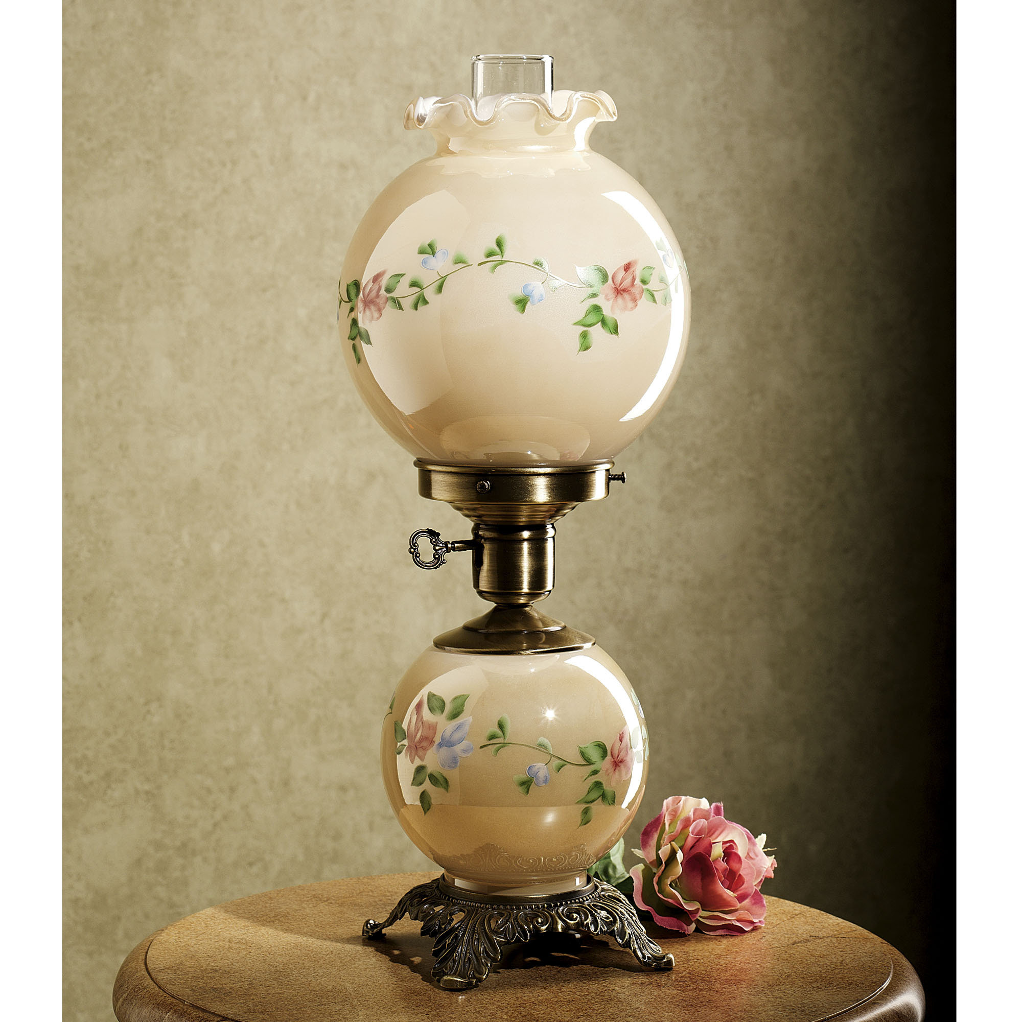 antique globe lamps photo - 2