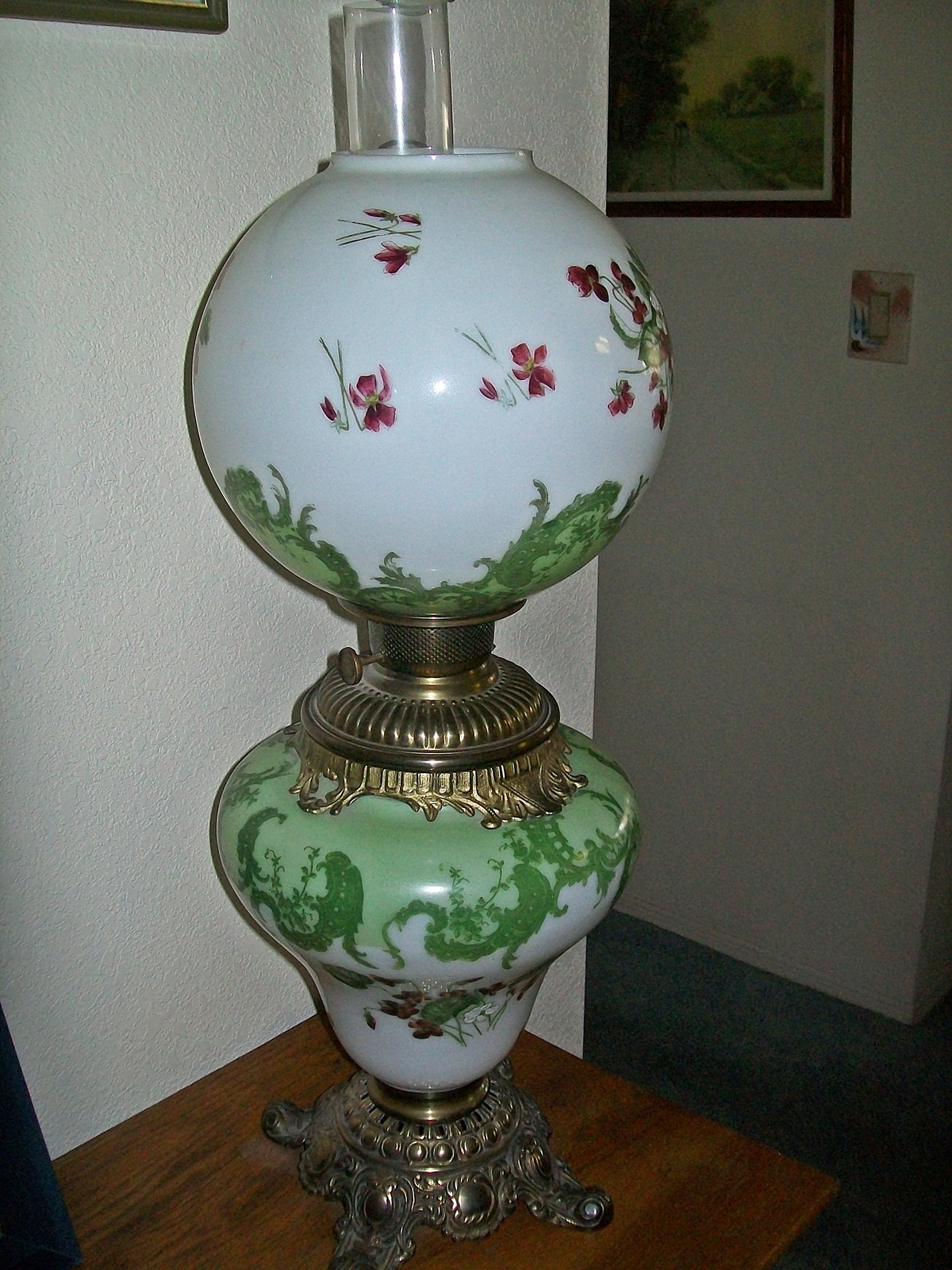 antique globe lamps photo - 6