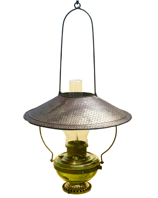 antique kerosene lamps photo - 7