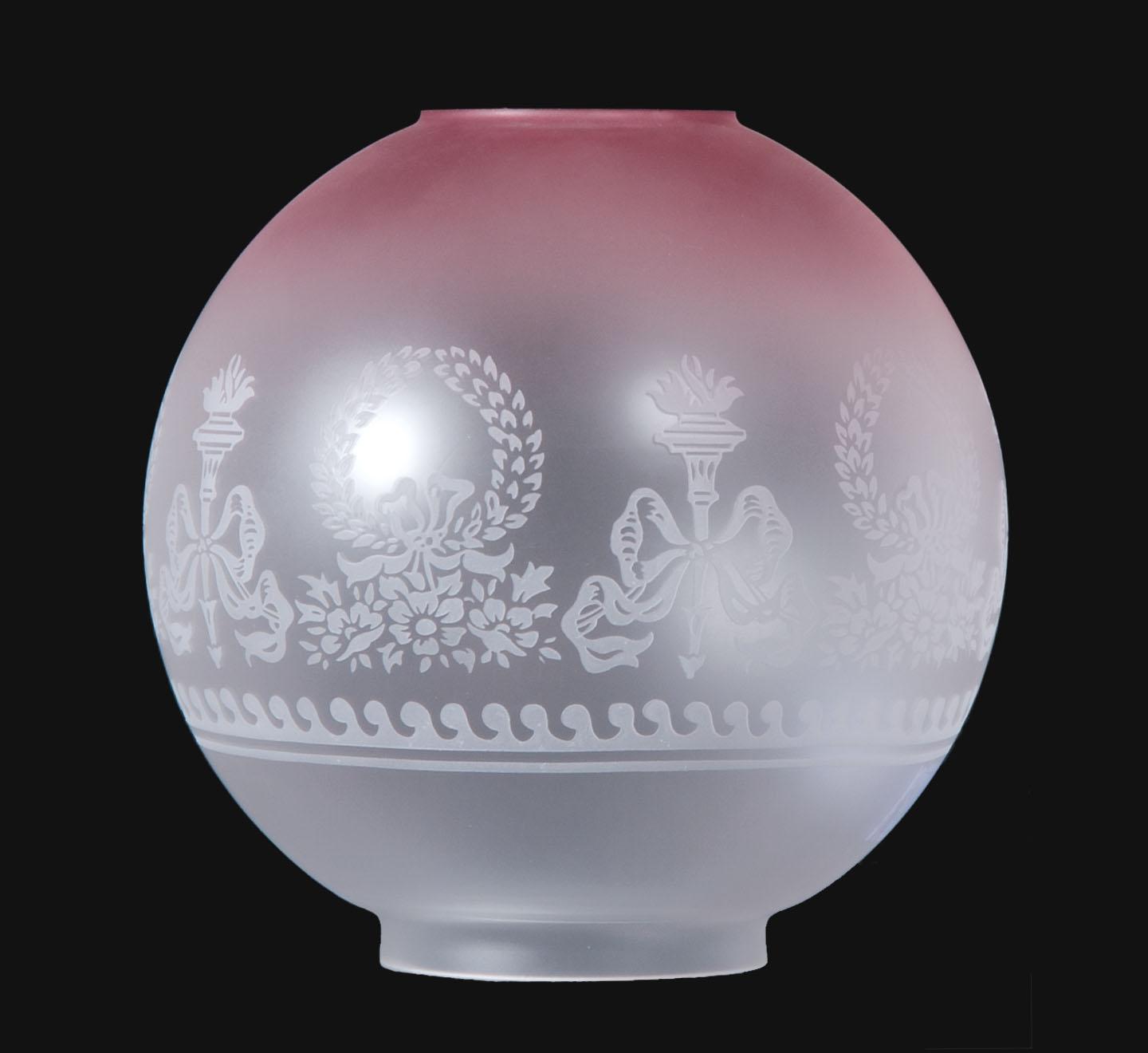 antique lamp globes photo - 3