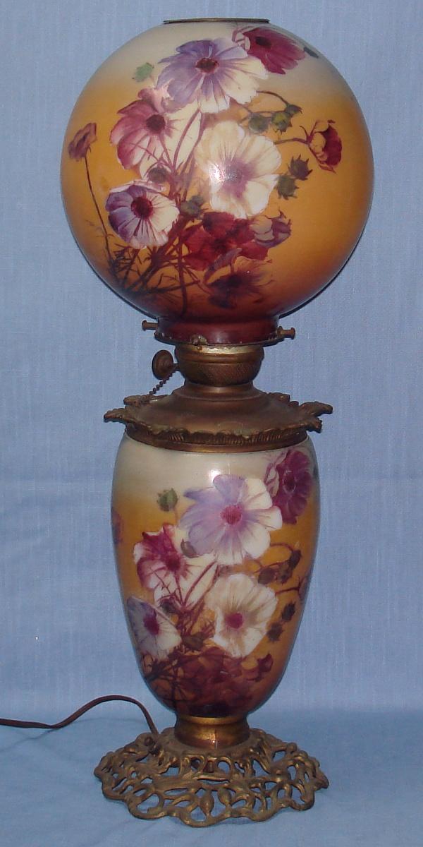 antique lamp globes photo - 5