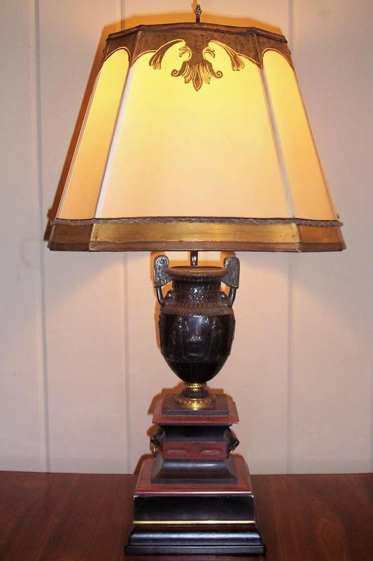 antique marble lamps photo - 6
