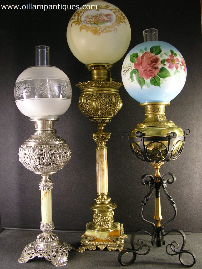 Antique Oil Lamps Warisan Lighting