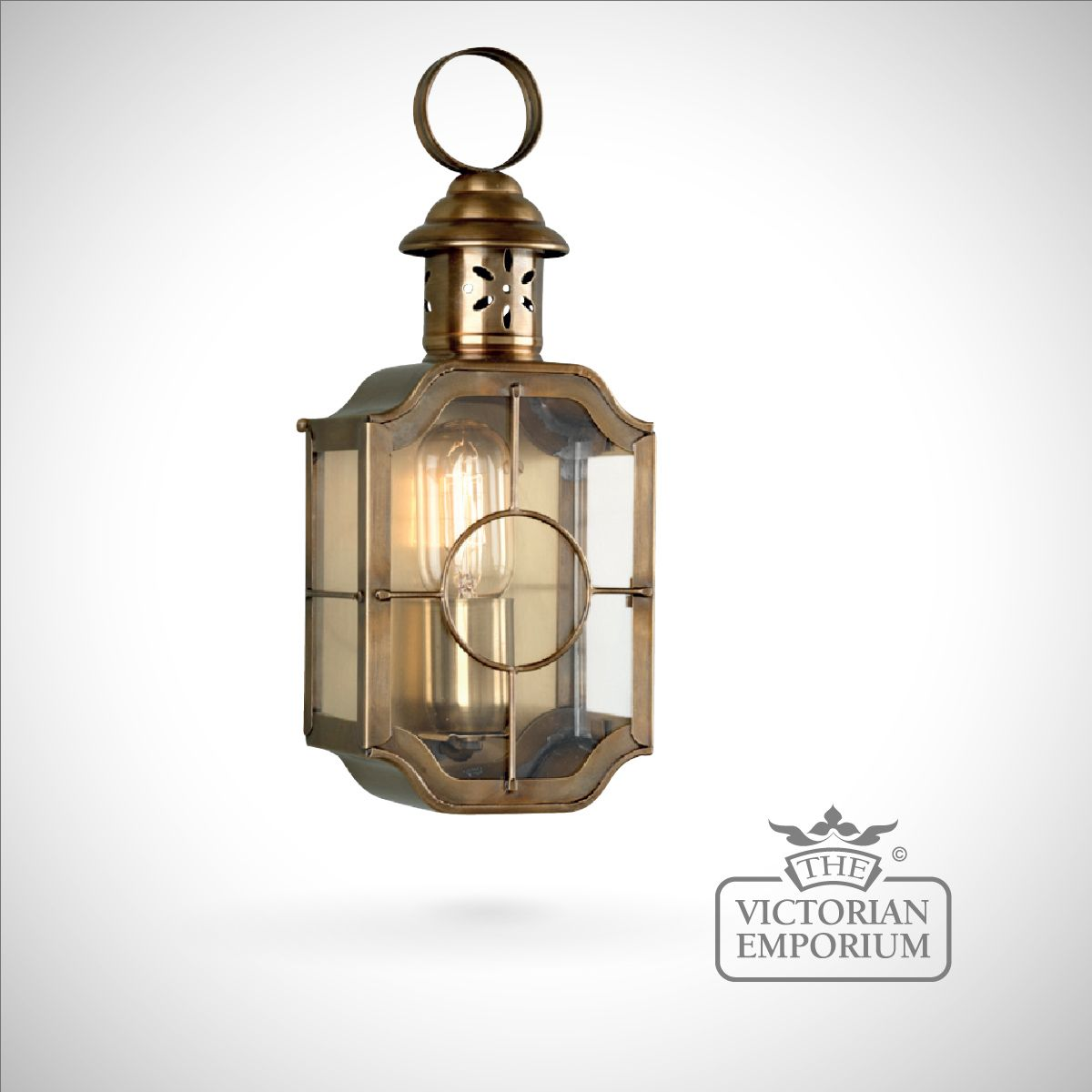 antique outdoor lights photo - 2