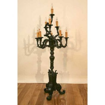antique standing lamps photo - 8