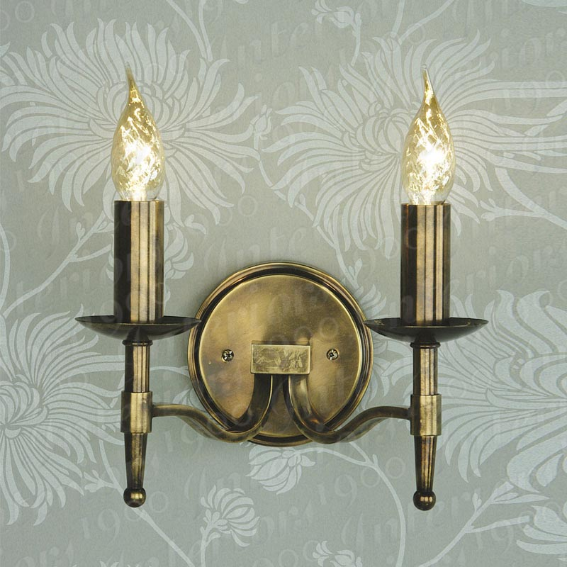 antique wall light photo - 4