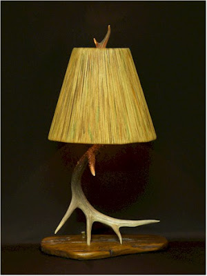 antler lamps photo - 3