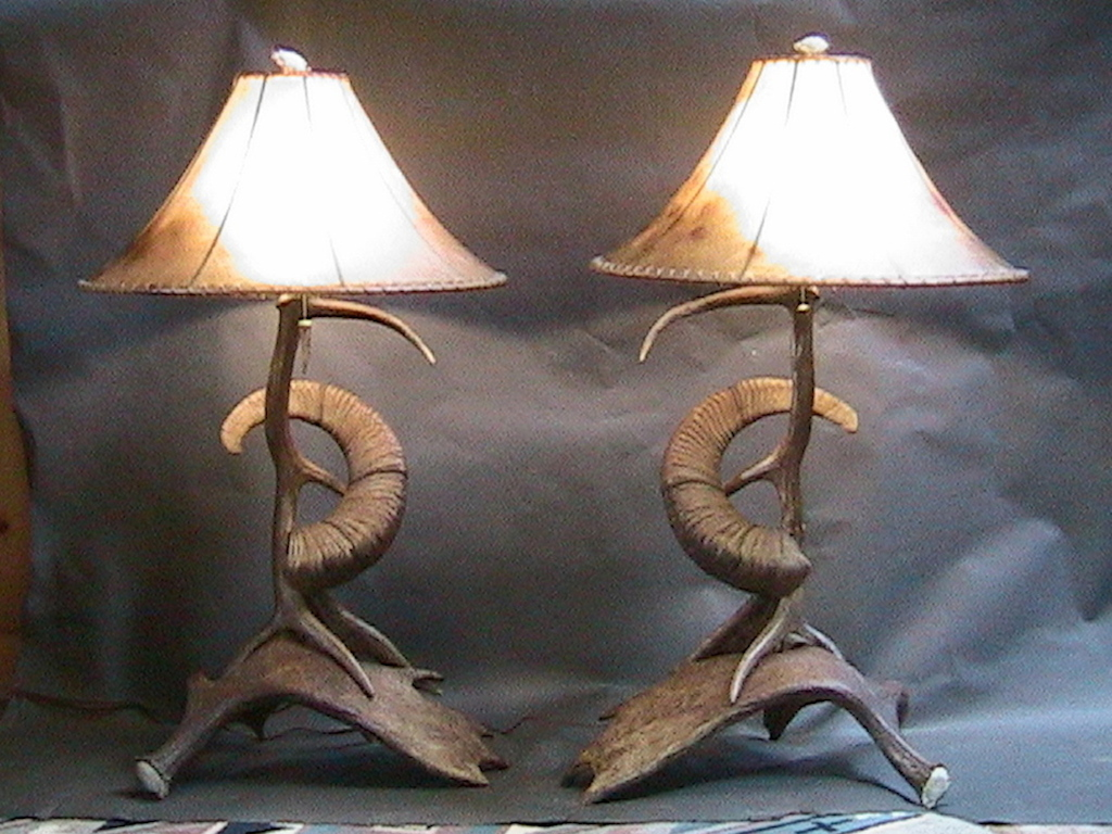 antler lamps photo - 7