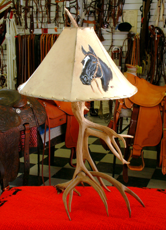 antler lamps photo - 8