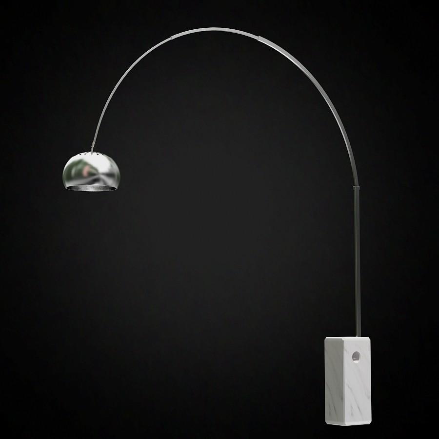 arco lamp photo - 2