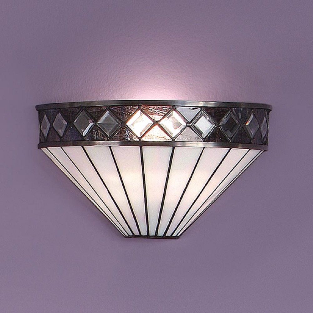 art deco bathroom wall lights photo - 5