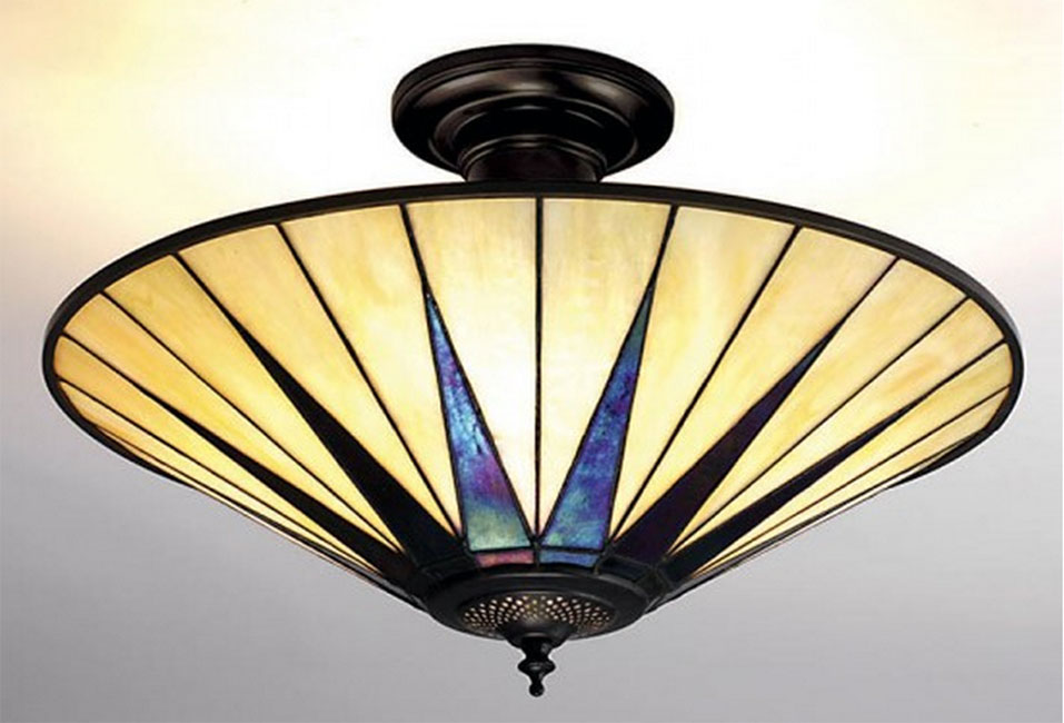 art deco ceiling lights photo - 2