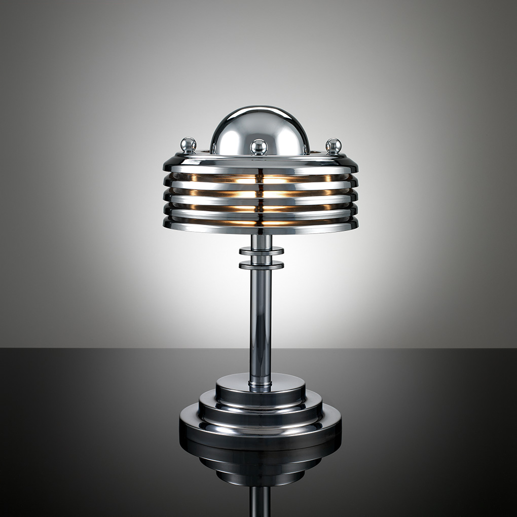art deco desk lamp photo - 2