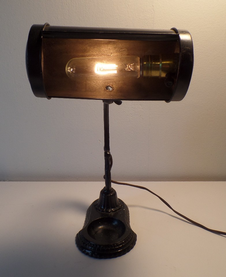 art deco desk lamp photo - 3
