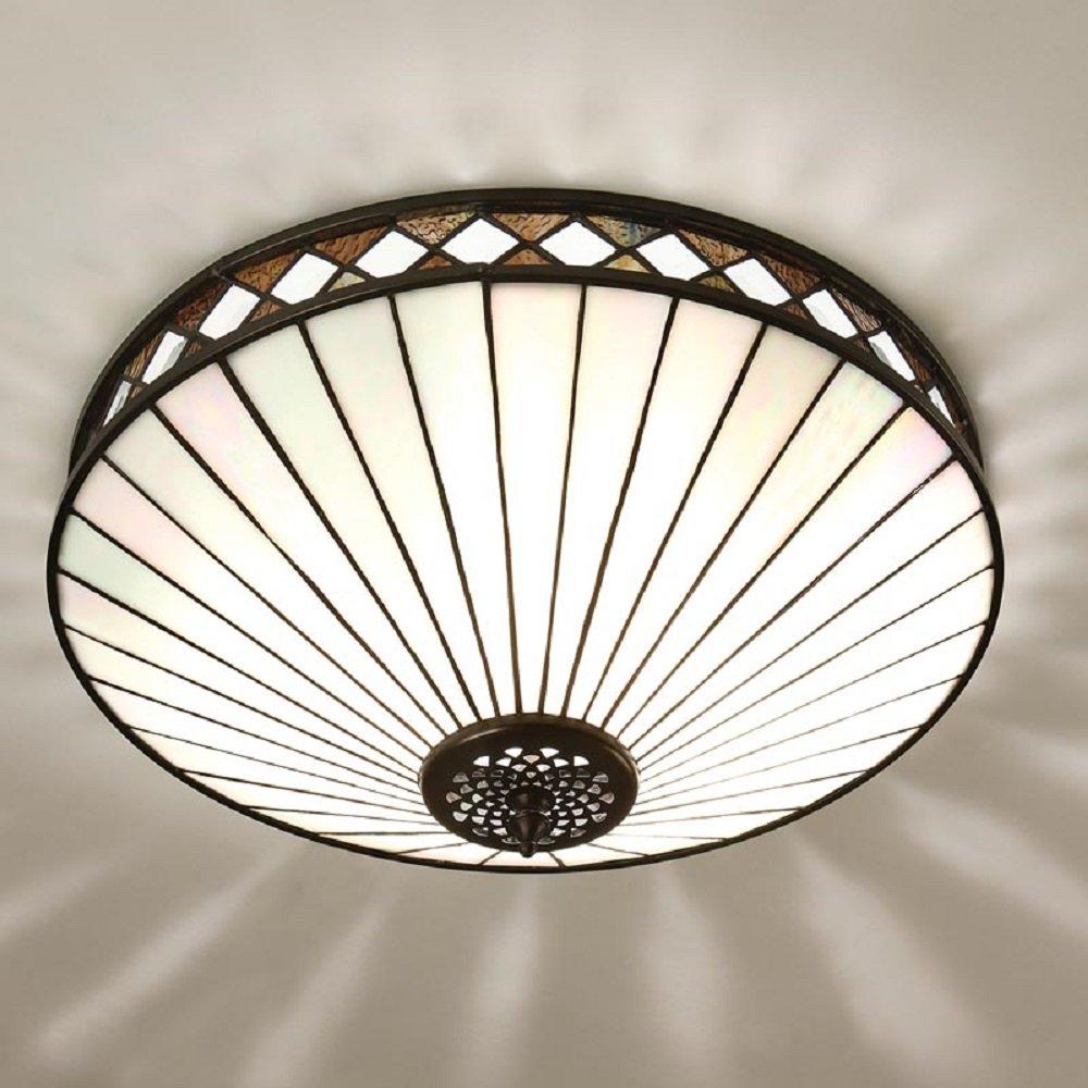 art deco style ceiling lights photo - 2