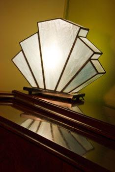 art deco table lamps photo - 1
