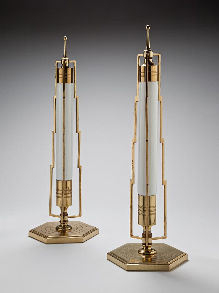 art deco table lamps photo - 4