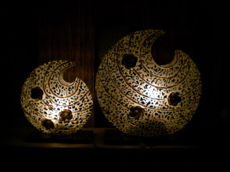 art deco table lamps photo - 6