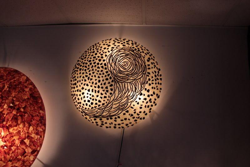 art deco table lamps photo - 7
