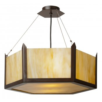 art glass ceiling lights photo - 3
