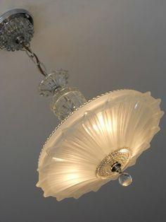 art glass ceiling lights photo - 8
