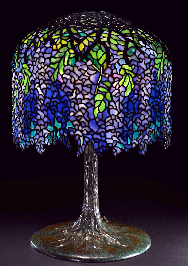 art nouveau table lamps photo - 10