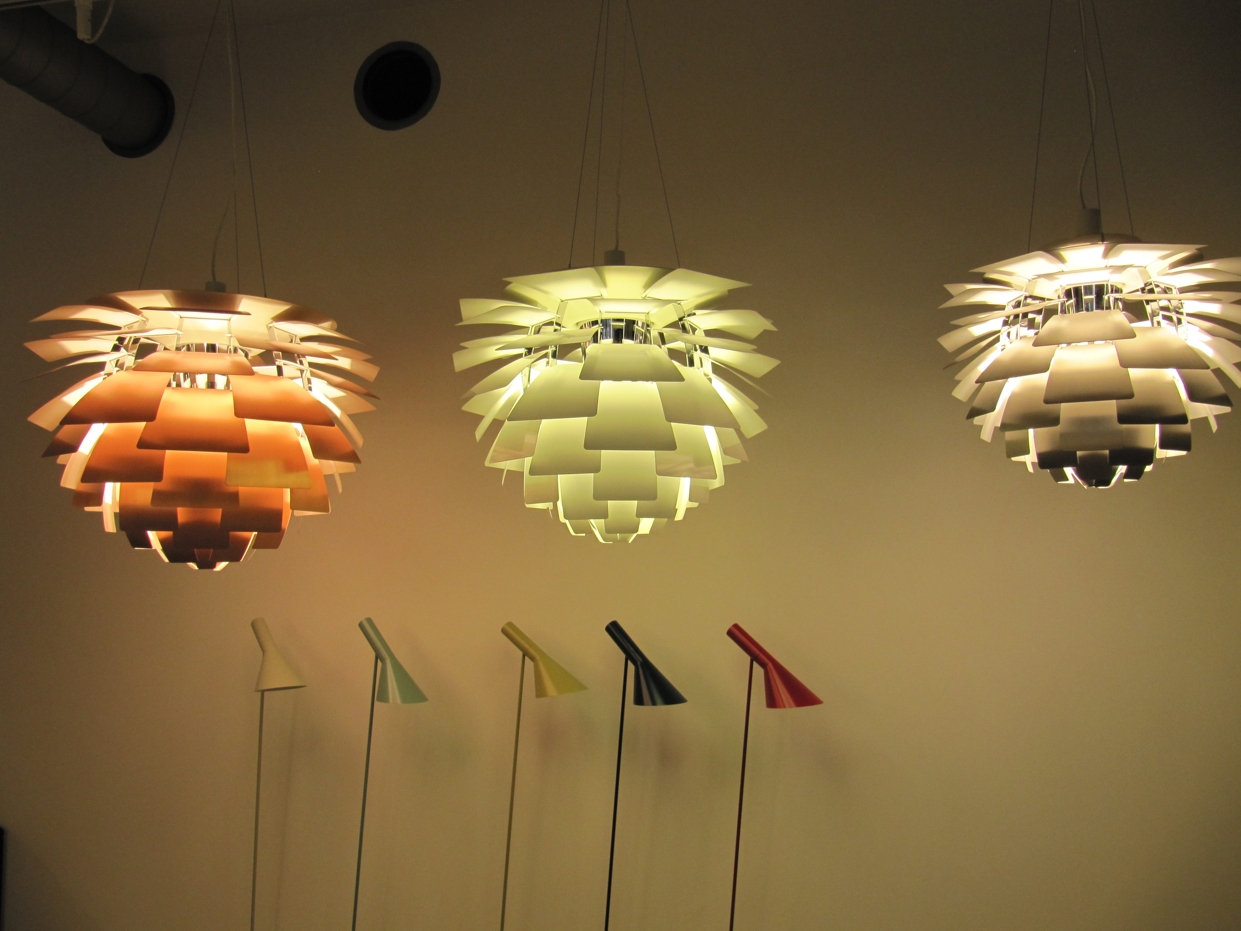 artichoke lamp photo - 1