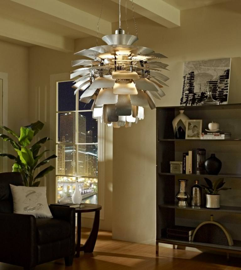 artichoke lamp photo - 10